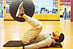 腹筋トレーニング16種目!バランスボールで効果的に腹筋・体幹を鍛える方法